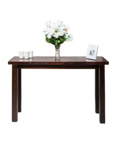 Wooden Walnut Console Table