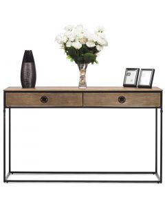Modern Hallway Console Table with Storage