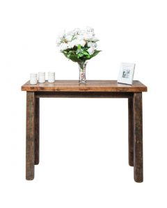 Wooden Console Table - Blonde Matt