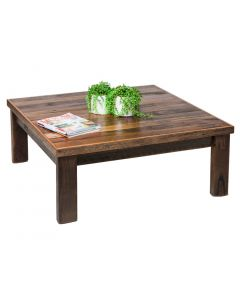 Reclaimed Wooden Coffee Table - Blonde Matt