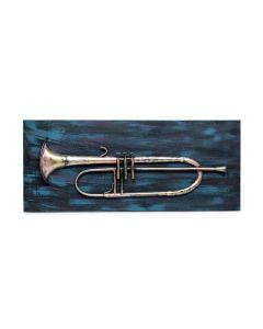 Trumpet 3D Wall Art Display Handmade Home Decor
