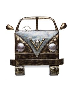 Campervan 3D Iron Wall Art Handmade Display Decor