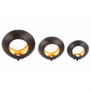 Ring Shaped Candle Holder - Set of 3