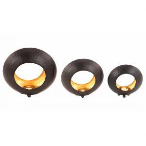 Ring Shaped Candle Holder - Set of 3