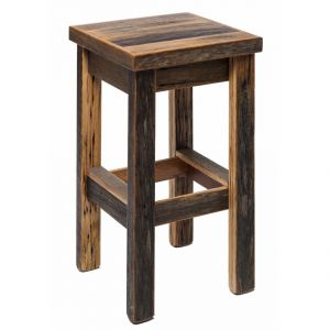 Wooden Bar Stool - Blonde Matt