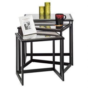 Stainless Steel Iron Nested Side Table