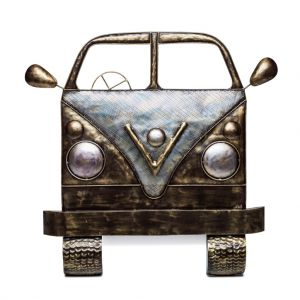Campervan 3D Iron Wall Art Handmade Display Decor