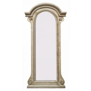 Hand Crafted Floor Mirror Arched Vintage Country Shabby Chic Large 181 X 90 cm